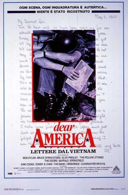 Risultato immagini per Dear America - Lettere dal Vietnam