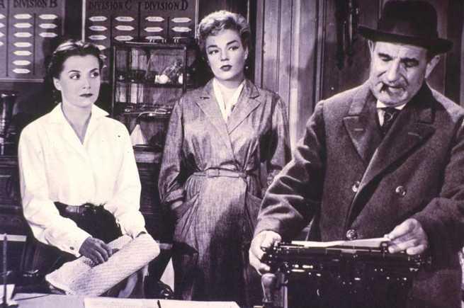 Vera Clouzot, Simone Signoret, Charles Vanel