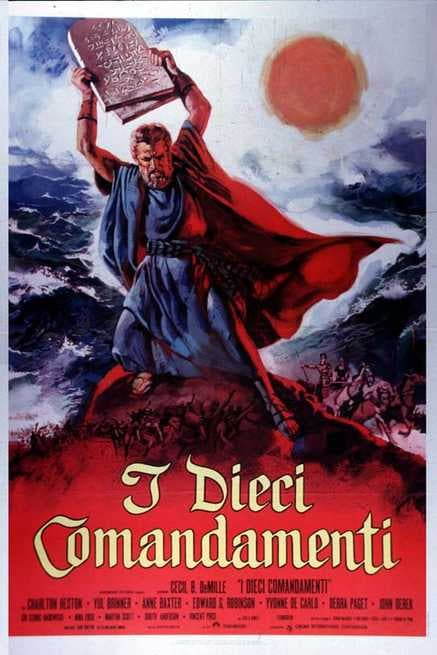 I dieci comandamenti (1956) - Streaming | FilmTV.it