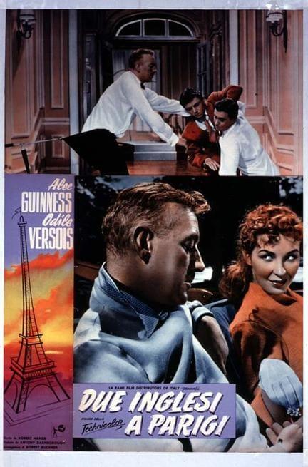 Due Inglesi A Parigi (1954)