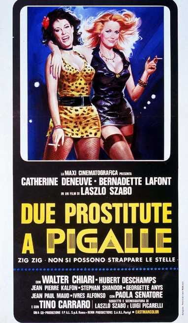 Due Prostitute A Pigalle 1975 Filmtvit