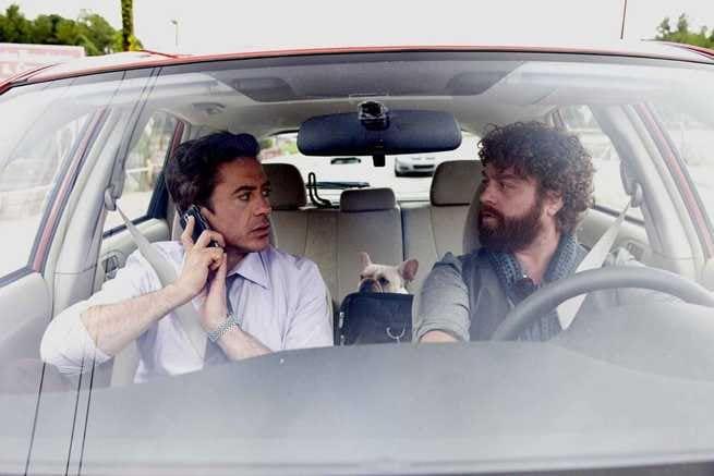 Robert Downey Jr., Zach Galifianakis