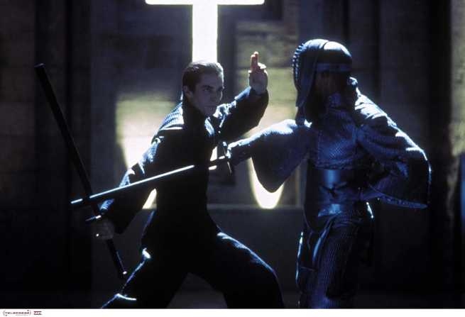 Christian Bale, Taye Diggs