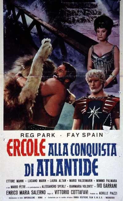 Risultati immagini per Ercole alla conquista di Atlantide