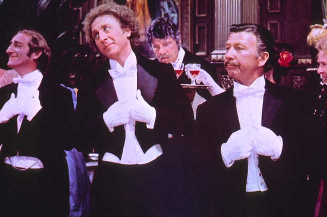 Gene Wilder, Marty Feldman, Leo McKern