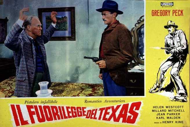 1/7 - Romantico avventuriero - Il fuorilegge del Texas