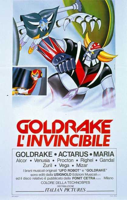 Risultati immagini per Goldrake l'invincibile