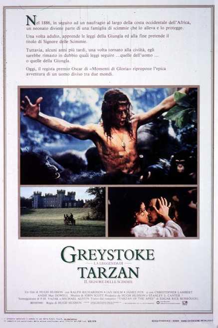 1/7 - Greystoke - La leggenda di Tarzan il signore delle scimmie
