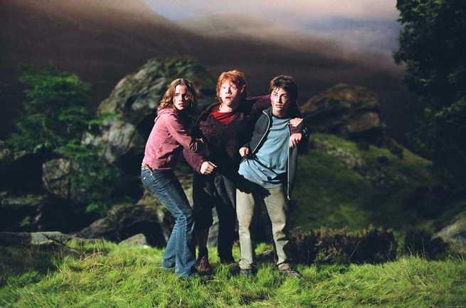 Emma Watson, Rupert Grint, Daniel Radcliffe
