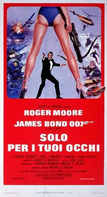 1/7 - Agente 007. Solo per i tuoi occhi
