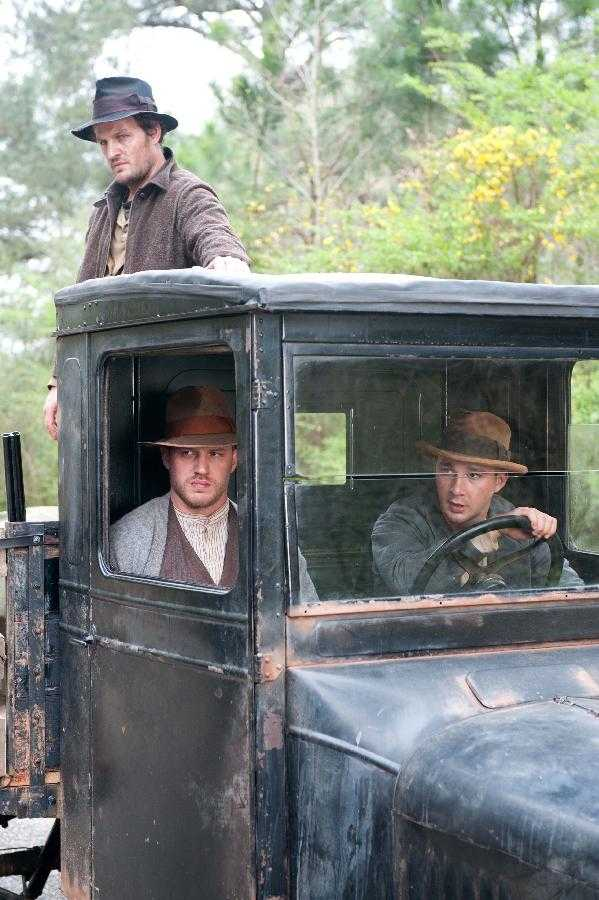 Lawless: Tom Hardy, Shia LaBeouf