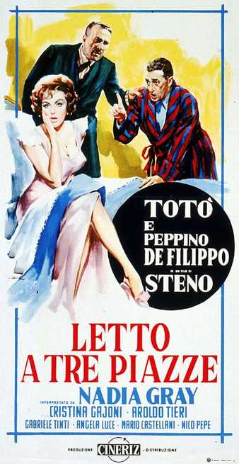 Letto Tre Piazze.Letto A Tre Piazze 1960 Streaming Filmtv It