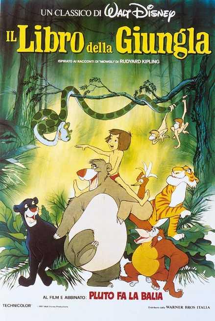 Il libro della giungla filmtv