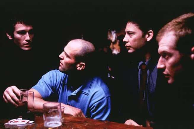 Nick Moran, Jason Statham, Dexter Fletcher, Jason Flemyng