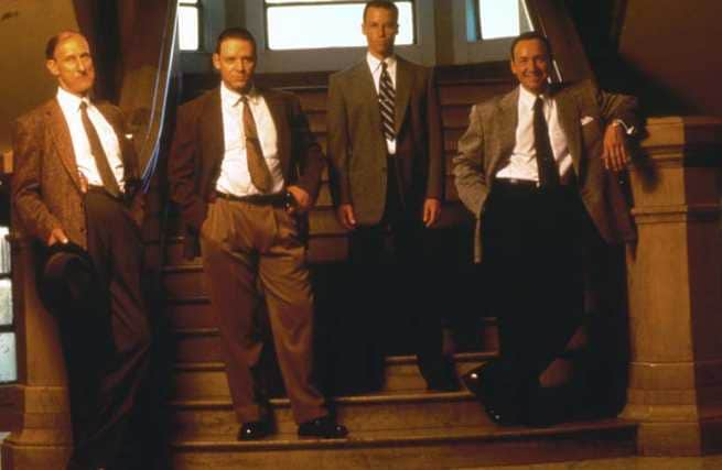 James Cromwell, Russell Crowe, Guy Pearce, Kevin Spacey