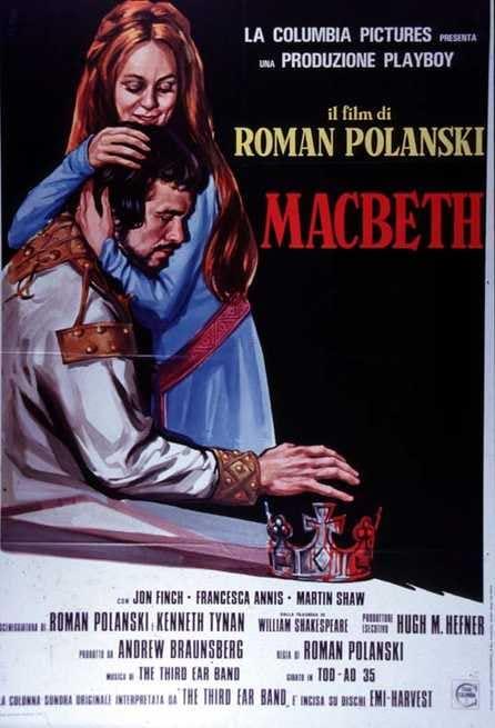 Risultati immagini per macbeth film 1972