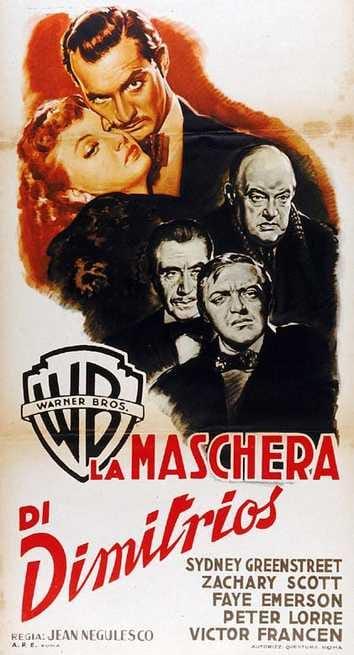 Risultati immagini per la maschera di dimitrios film 1944