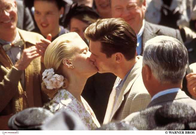 Laurie Holden, Jim Carrey