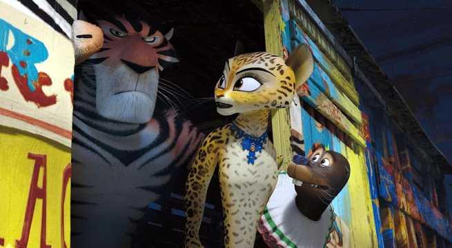2/7 - Madagascar 3. Ricercati in Europa