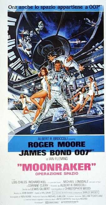 1/7 - Agente 007. Moonraker Operazione spazio