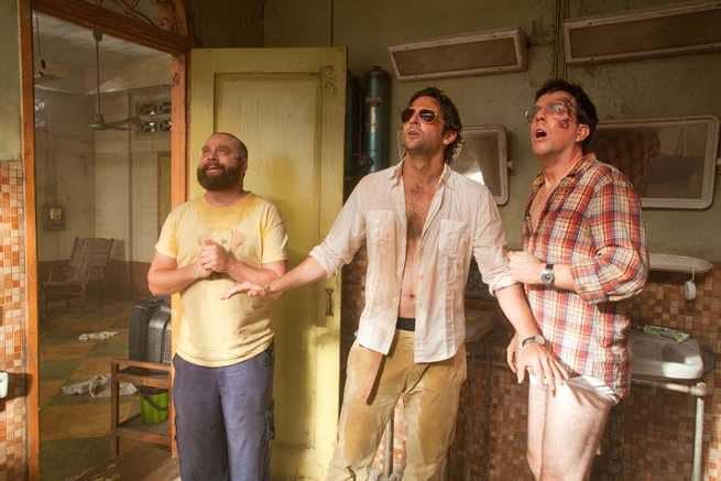 Zach Galifianakis, Bradley Cooper, Ed Helms