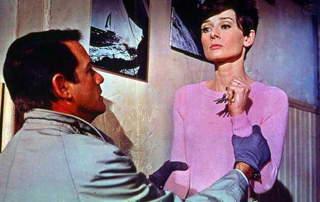 Richard Crenna, Audrey Hepburn
