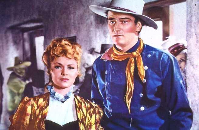John Wayne, Claire Trevor