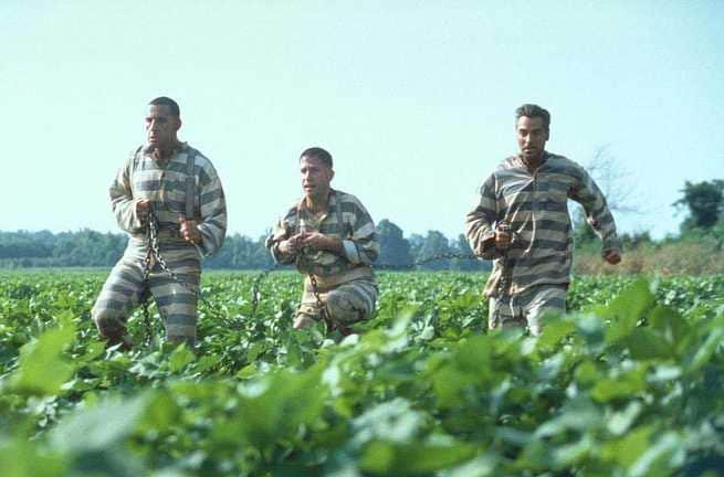John Turturro, Tim Blake Nelson, George Clooney