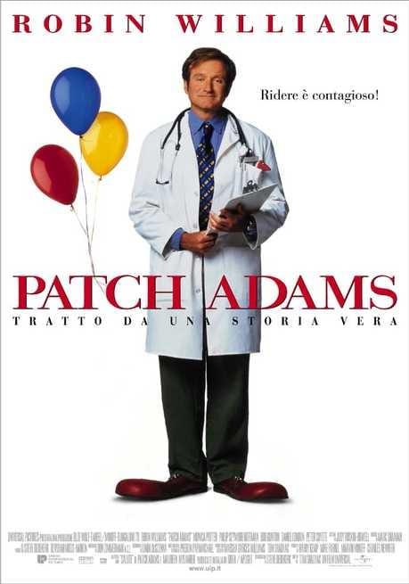 patch adams trailer ita
