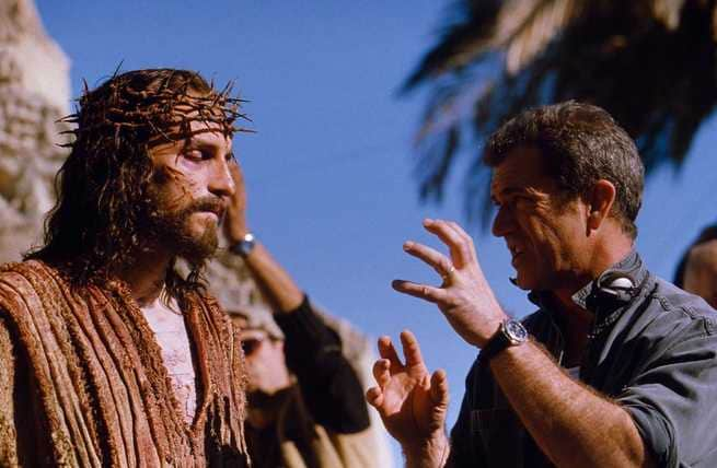 James Caviezel, Mel Gibson