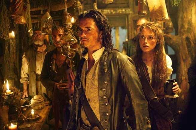 2/7 - Pirati dei Caraibi. La maledizione del forziere fantasma