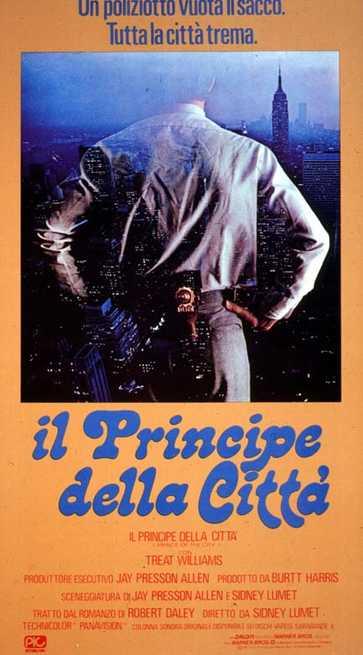 Risultati immagini per il principe della città film 1981 locandina