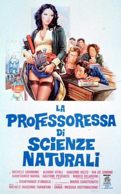 Image result for LA PROFESSORESSA DI SCIENZE NATURALI ( 1976 ) GIF POSTER