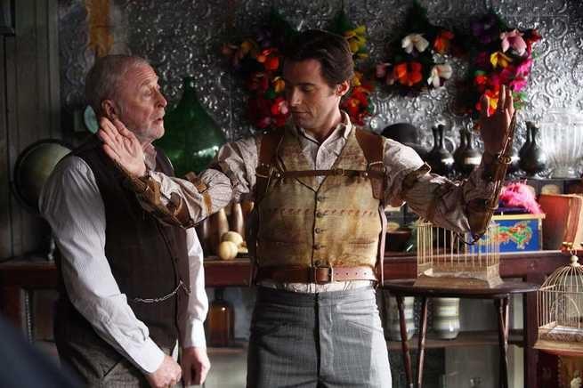 Michael Caine, Hugh Jackman