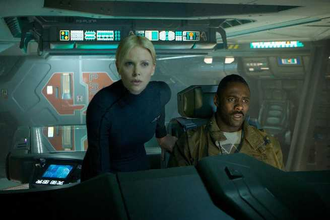 Prometheus: Charlize Theron, Idris Elba