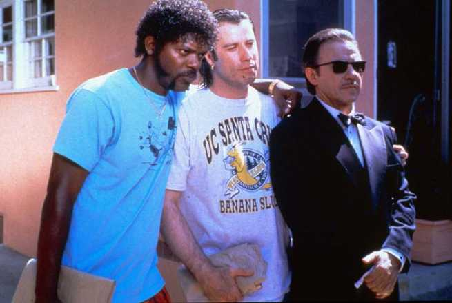 John Travolta, Samuel L. Jackson, Harvey Keitel