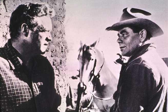 Van Heflin, Glenn Ford