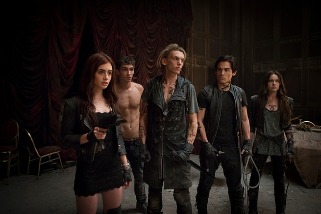 Robert Sheehan, Jamie Campbell Bower, Kevin Zegers, Jemima West