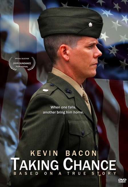 taking chances Directed by ross katz with kevin bacon, tom aldredge, nicholas art, blanche baker based on real-life events, lt col michael strobl, a volunteer military escort officer, accompanies the.