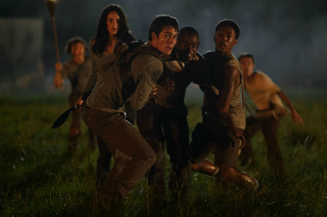 Kaya Scodelario, Dylan O'Brien, Ki Hong Lee