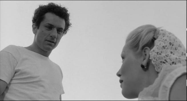 Cathy Moriarty, Robert De Niro