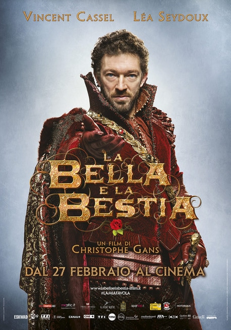 Character poster Vincent Cassel