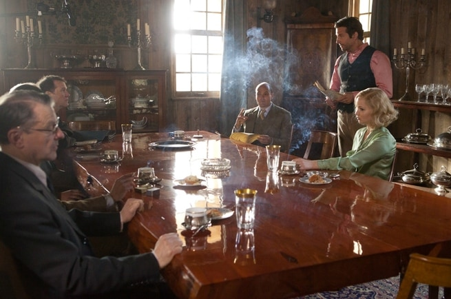 David Dencik, Bradley Cooper, Jennifer Lawrence
