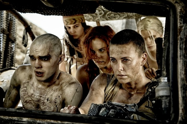 Nicholas Hoult, Courtney Eaton, Riley Keough, Charlize Theron, Abbey Lee