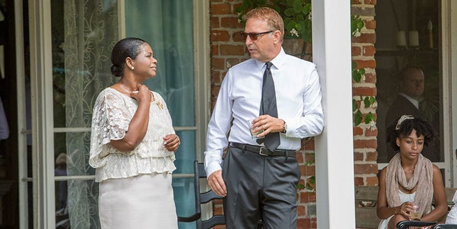 Kevin Costner, Octavia Spencer, Jillian Estell