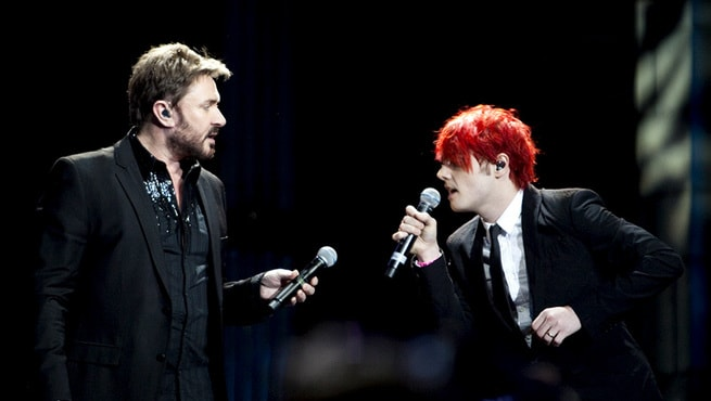 Gerard Way, Simon Le Bon