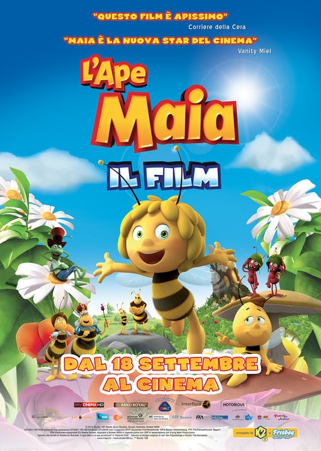 Locandina L'Ape Maia