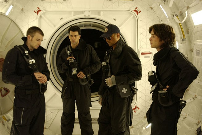 Chris Evans, Troy Garity, Cliff Curtis, Cillian Murphy