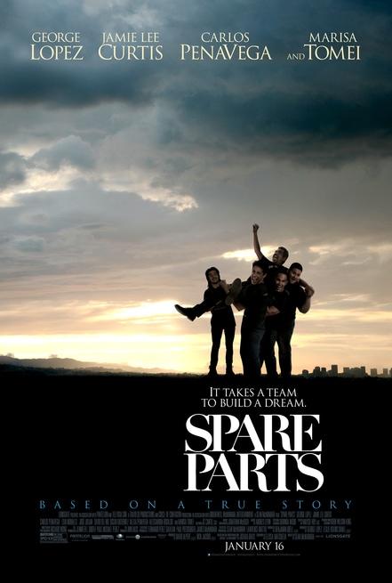 spare parts poster Spare Parts [HD] [Sub ITA] (2015)