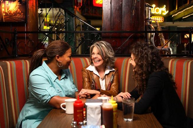 Queen Latifah, Diane Keaton, Katie Holmes